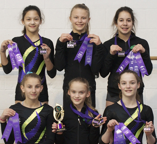 Campbell River GymnasticsTAG-Port Moody16-72