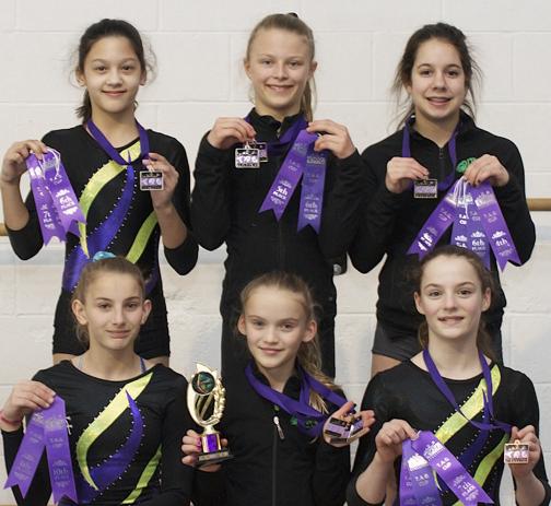 Campbell River GymnasticsTAG-Port Moody16-72