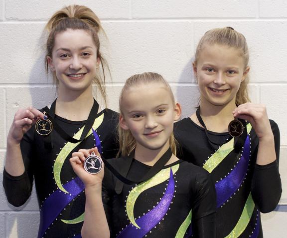 Campbell River GymnasticsWinter Games trials16-72